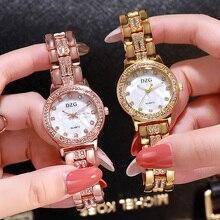 New Luxury Diamond Watch Women Fashion Watches For Steel Belt Quartz Crystal Wristwatch Designer Ladies Casual 2019