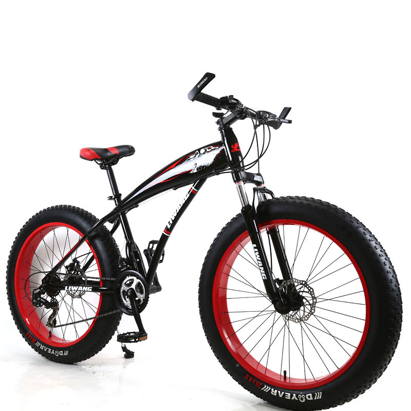 Mountain Bicycle Snow Special 24 Inch Wheel 21 Speed Double Disc Brake Aluminum Shock Absorber Men Bike 2019 New
