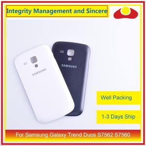 Image 5 - Original para Samsung Galaxy Trend Duos S7562 7562 S7560 7560 carcasa de batería tapa trasera carcasa chasis Shell reemplazo