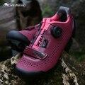Santic/Женская обувь для велоспорта MTB; Поворотный замок; обувь для горного велосипеда; кроссовки для велоспорта; женская обувь; Два цвета; LS18002