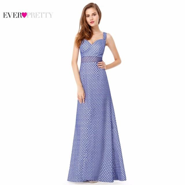Evening Dress New Fashion EP08961SB Ever Pretty Women Elegant Sleeveless Long Evening Party Dress 2017