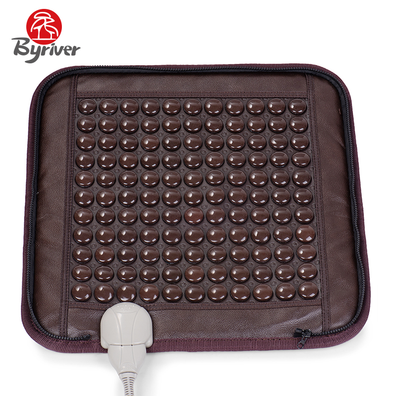 BYRIVER 121 Piece Natural Tourmalin Stone Foot Care Massager, 2 IN 1 Seat Foot Heating Mattress , 45*45CM Seat CushionBYRIVER 121 Piece Natural Tourmalin Stone Foot Care Massager, 2 IN 1 Seat Foot Heating Mattress , 45*45CM Seat Cushion