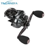 Trulinoya BaitCasting Fishing Reel 10BB 6.3:1 Centrifugal Brakes Fresh/Sea Reel for fishing Max Drag 8Kg Water Drop wheel pesca