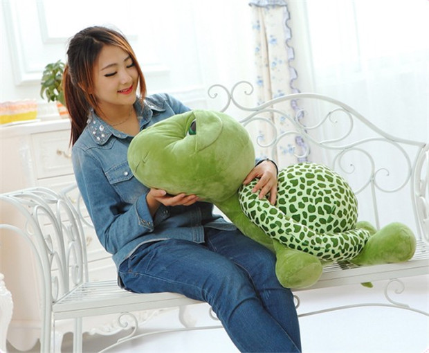 cartoon big eyes tortoise plush toy,large 80cm turtle throw pillow toy, birthday gift h769 2017 new arriving 40cm big eyes turtle plush toy turtle doll turtle kids as birthday christmas gift free shipping
