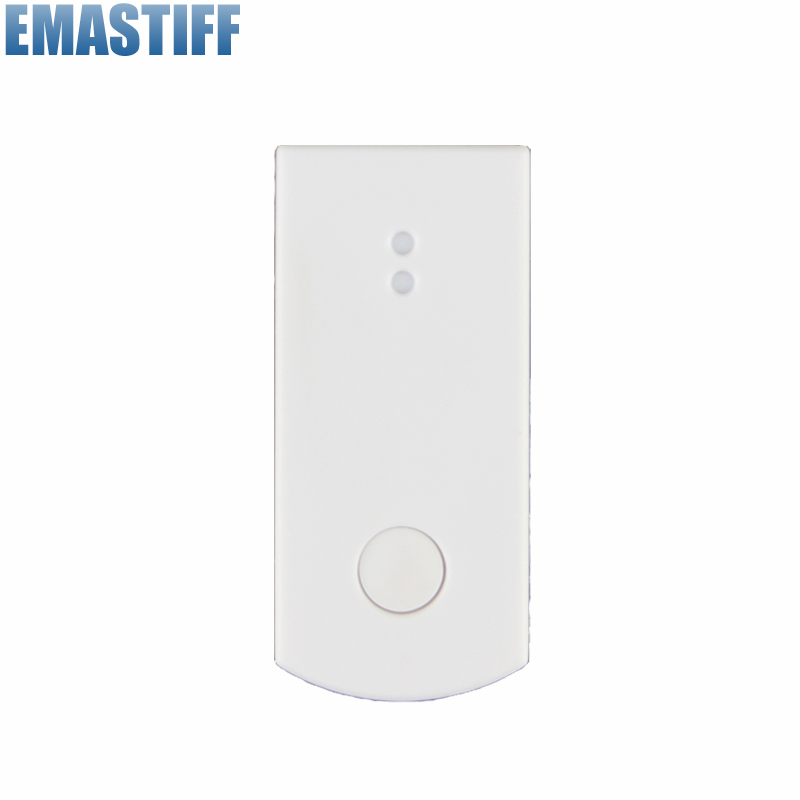868MHZ wireless glass/vibration sensor for 7 inch touch screen alarm system wireless vibration break breakage glass sensor detector 433mhz for alarm system