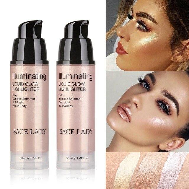 30ml Makeup Illuminator Highlighter Cream Face Brighten Professional