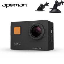 Apeman A80 4K 1080P Dash Cam DVR Full HD Novateck 96660 Action Video Camera Recorder With 1050mah Battery