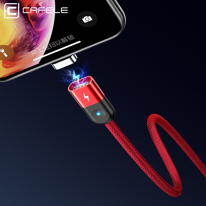 Cafele Magnetic USB Cable Micro Type C Charging for iPhone Xiaomi Huawei