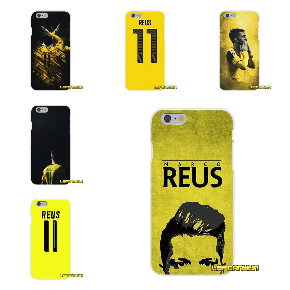 Marco Reus 11 Soft Silicone Phone Case For Iphone X 4 4s 5 5s 5c Se Peonia Electroplating Transparent Ultrathin Samsung J7 Pro 2017 6 6s 7 8 Plus In Half Wrapped From Cellphones Telecommunications On