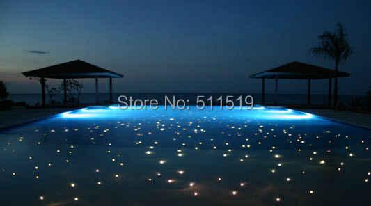 Diy Pool Fiber Lighitng Star Decoration