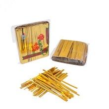 Ties Tie-Wire Twist-Tie Golden Strapping-Tape Binding-Line Bakery-Packing Metallic