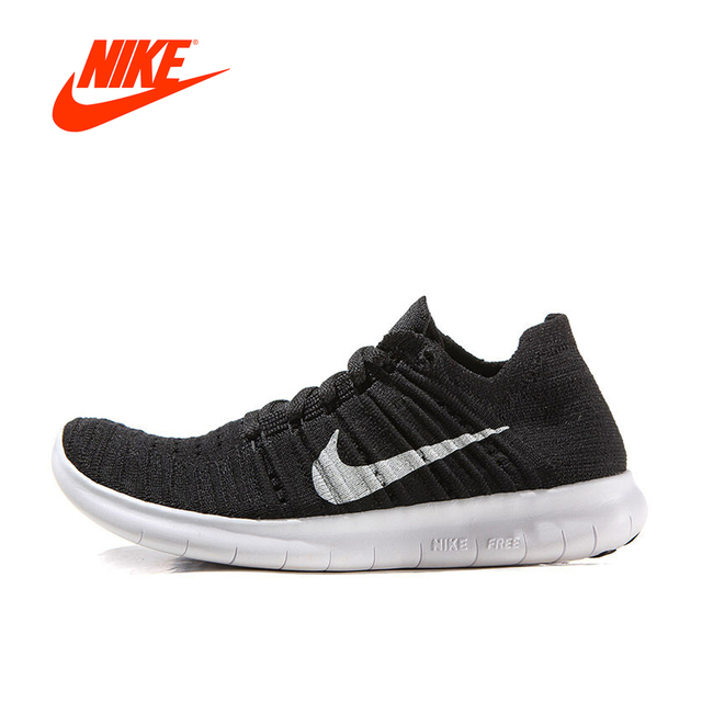 4fca85b4c75d Original New Arrival Authentic Nike Free RN Flyknit Women s Breathable  Running Shoes Sports Sneakers