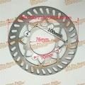 190/200210/220/230mm placa de disco de freio para dirt bike pit bicicleta CRF KLX MELHOR Moto Freio dianteiro e Traseiro Universal Use