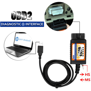 Image 4 - OBD2 ELM327 USB Switch OBD Scanner Code Reader Chip MZ327 Tester Modified Open Hidden Diagnostic Tool for Ford Forscan