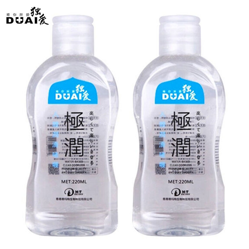 Duai 220Ml Water Soluble Lubrication Personal Lubricant -7605