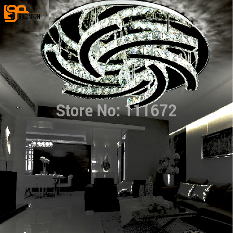 Nueva Ronda techo araña de cristal led iluminación cristalina salón lámpara luz LED