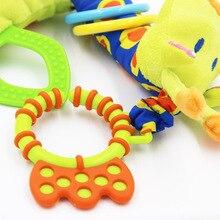 Giraffe Animal Handbells Baby Toy