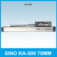 Free shipping SINO KA 500 70mm 5um 5V linear distance measurement KA500 70mm optical scale for milling machine CNC lathe