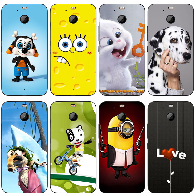 For HTC 10 evo Bolt Case Cartoon 3D Relief Printing Back Cover TPU Silicone Case For HTC 10 EVO / HTC Bolt 5.5