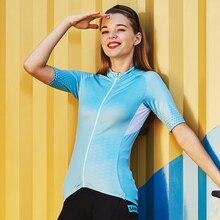 Santic 2019 Women Cycling Short Jersey Pro Fit Ladies Road MTB Bike Bicycle Sleeve Summer Asian Size S-XL L8C02134