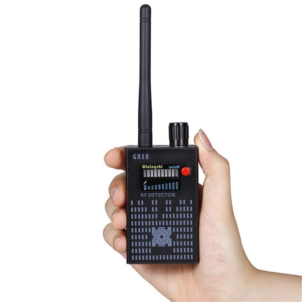 Nouveau 1 MHz-8000 MHz détecteur de Signal sans fil Radio onde WiFi détecteur de bogue caméra pleine gamme RF détecteur G318 EU/US PLUG