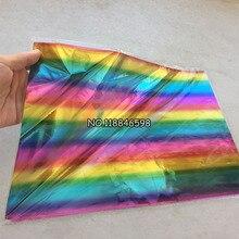 50 шт. 20x29 см A4 семь цветов горячего тиснения фольги бумага трансере на элегантность лазерный принтер крафт бумага