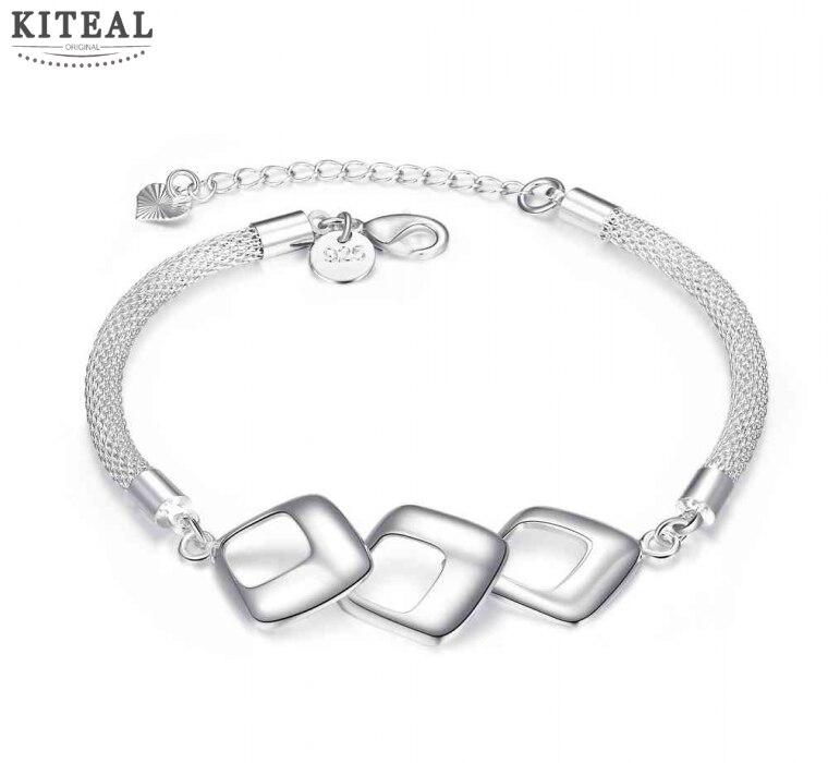 Fashion jewellery charms silver bracelets