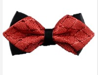 2017 autumn casual high quality male man groom black red bow tie wedding wedding Korean British bow tie girl tide