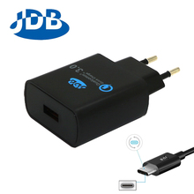 JDB Quick Charge Qualcomm 3 0 QC3 0 Fast Phone Charger 2A 2 4A For Samsung