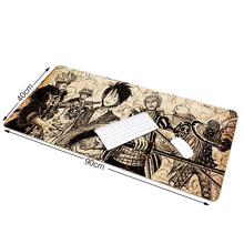 Newest For ONE PIECE 900*400*2mm Warm Suitable for Large Mouse Pads Mouse Mat Version Overlock For Gamer LOL Keyboards Mouse Pad