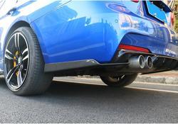Samochód boczne z włókna węglowego ciała spódnice zestaw wargi rozgałęźniki Bumpe pokrowiec na BMW serii 3 F30 320i 325i 328i 335i 2012- 2017