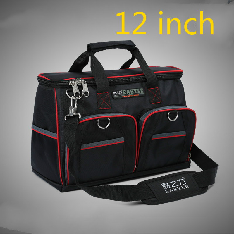 12 Inch Appliances Electrical Repair Bag After Sales Tool Bag Oxford Cloth Double Canvas Thickening Tool Kit tool kit features oxford cloth backpack canvas thickening electrician package tool bag maintenance package