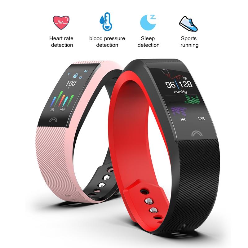 BANGWEI Smart Watch Men Women Heart rate monitor Waterproof Sport Fitness Band Smart Watch Men Digital clock For Android IOS