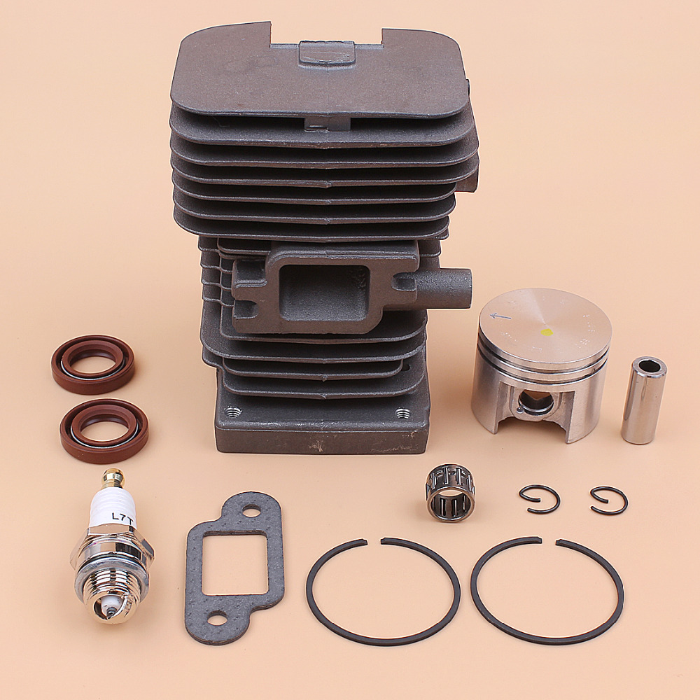 38MM Cylinder Piston Engine Rebuild Kit For STIHL MS180 MS170 MS 180 170 018 017 Gasoline Chainsaw Motor Parts 10mm Pin