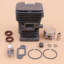 38mm Cylinder Piston Assembly Kit For Stihl 018 MS180 MS170 1130 020 1208 Chainsaw w/ Needle Bearing Oil Seals Muffler Gasket