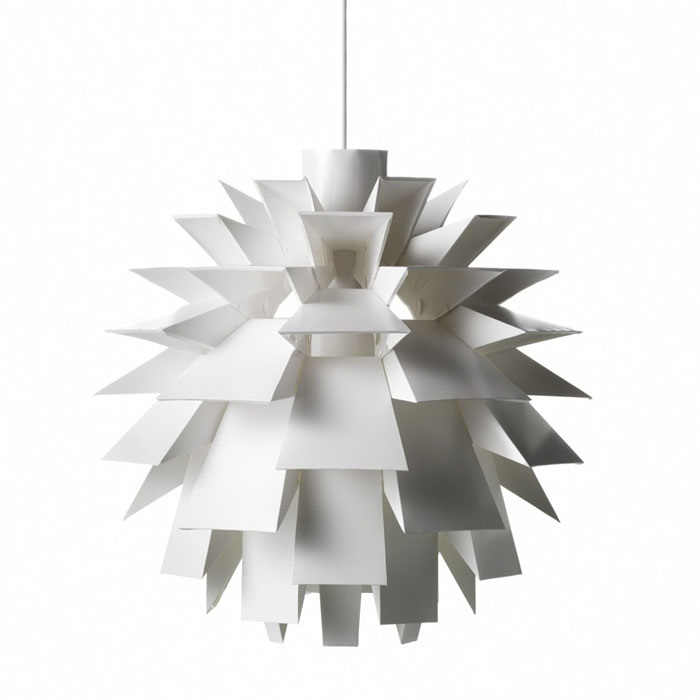 Nouveau moderne Simon Karkov norme 69 contemporain blanc PP suspension luminaireNouveau moderne Simon Karkov norme 69 contemporain blanc PP suspension luminaire