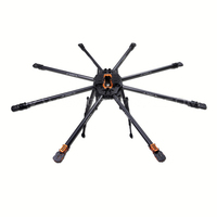 Tarot T18 FPV Octacopter UAV Octocopter Frame TL18T00 25mm Carbon Fiber 1270MM 11KG FPV Multi Rotor for RC FPV Photography