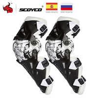 Scoyco Moto genouillère hommes équipement de protection genou Gurad genou protecteur équipement Rodiller équipement Motocross Joelheira Moto