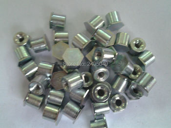 BSOA-032-14 Blind threaded  standoffs,  aluminum6061, Nature ,PEM standard,in stock, Made in china,