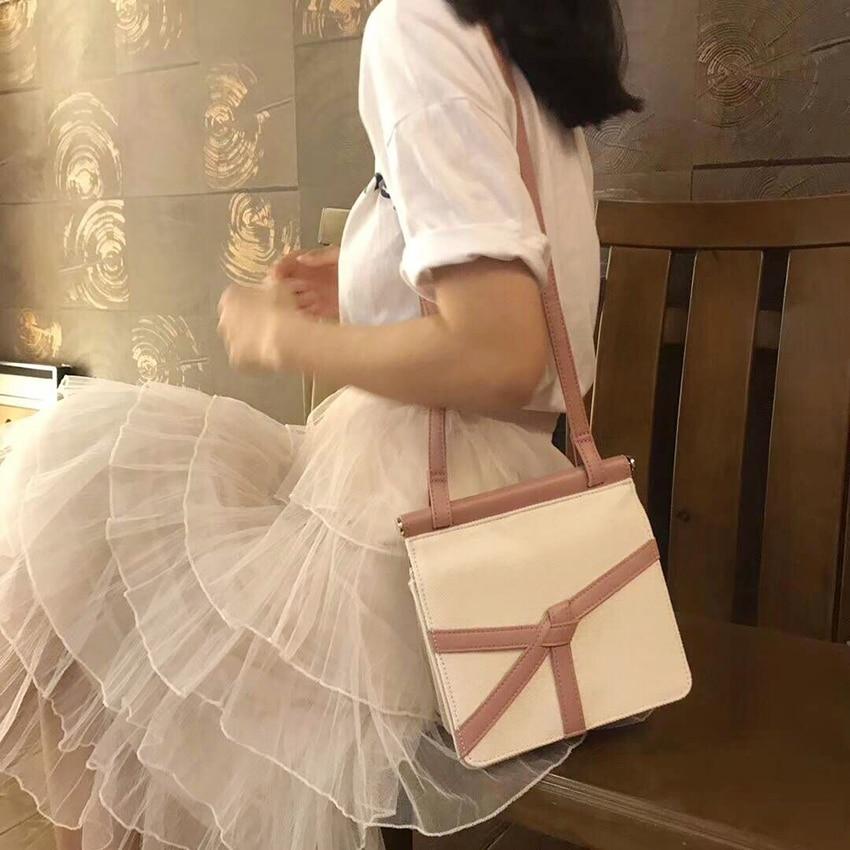 women leather canvas crossbody bag ladies vintage patchwork flap handbags totes fashion messenger strap shoulder crossbody bags