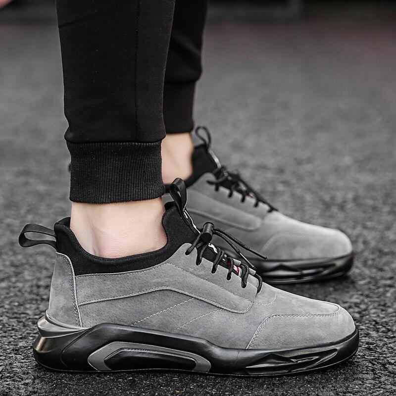 2018 Spring/Autumn Men's Vulcanize Shoes Fashion Sneakers Men Casual Shoes Flats Men Shoes Chaussure Homme Designer Sneakers 2