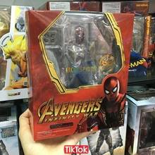 Movie Avengers Infinity War Iron Spider Man Cartoon Toy Action Figure Model Doll Gift