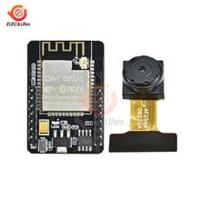 Módulo inalámbrico con WiFi para cámara de ESP32 CAM, tarjeta de ESP32 S y WeMos Mini D1 ESP32 DESARROLLO DE Bluetooth, 32 bits, Dual core OV2640