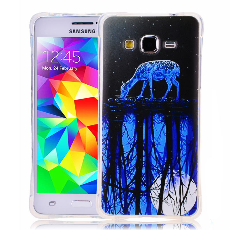 New 18 Painted Patterns Soft TPU Case Cover For Samsung Galaxy Grand Prime G530H G530 G531 Gran Prime Duos SM-G530H Fundas