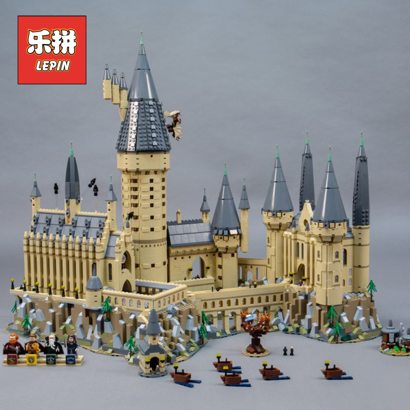Industrial Light And Magic Harry Potter: Lepin 16060 Harry Movie Potter Hogwarts Castle Magic Model