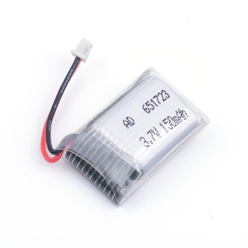 3.7V 150mAh 651723 Lipo battery For Syma S107 S107G 1S Li-Po Battery Helicopter Part For 3D glasses Smart watch Sports bracelet