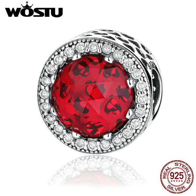 Pandora Style Crystal Radiant Hearts Charms