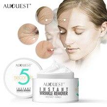 AuQuest 5 секунд для удаления морщин крем для лица против старения увлажняющий мгновенный подтягивающая для лица Уход за кожей продукт 20 г