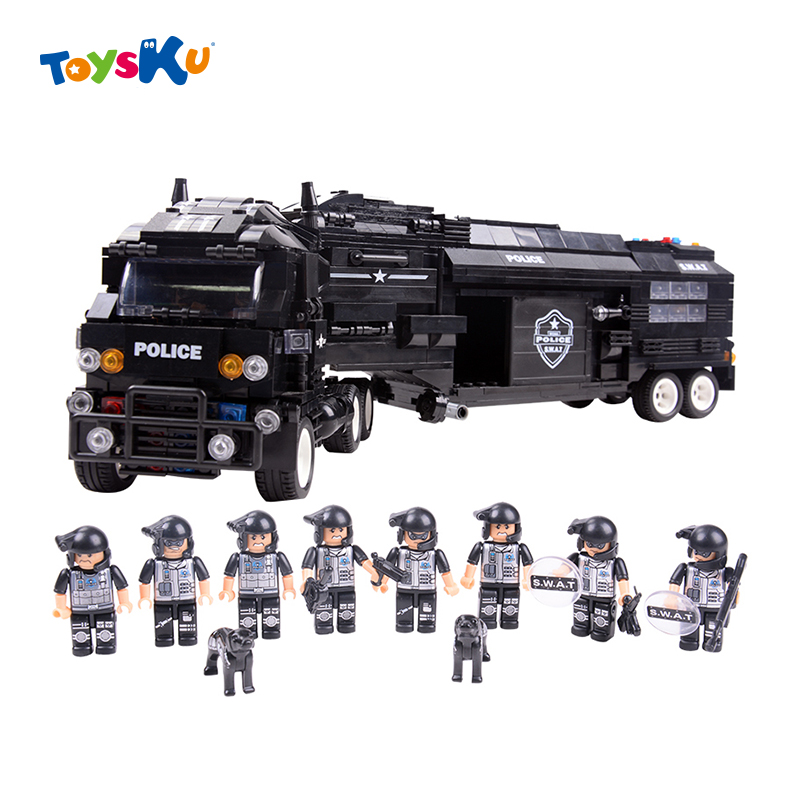 ФОТО New Children Toys Educational Building Blocks Toys SWAT Police Series Bricks Toys,Gifts for Boys and Girls