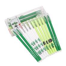 цены на 3/6Pcs/set Cactus Erasable Pen Refill Rod 0.38mm Blue/Black Ink Magic Gel Pen for School Office Writing Supplies Tool Stationery  в интернет-магазинах